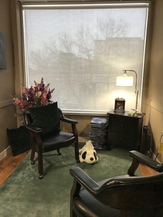 Picture of the Counselling Office in Red Deer